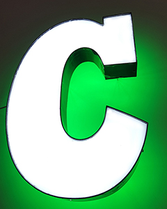 Channel Letter C1