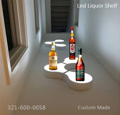 Led-Lighted Shelf 14